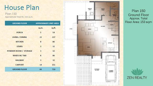 Plan 150 - Ground Floor