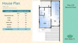 Plan 170 - Second Floor
