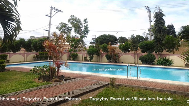 tagaytay executive village residential lot for sale cavite aguinaldo highway vacation