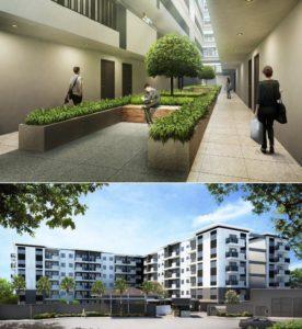 one antonio makati avida low rise condominium for sale