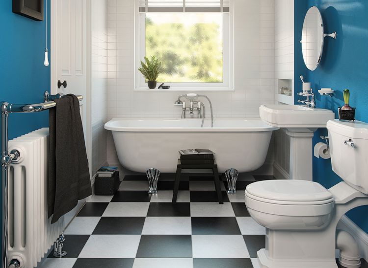 If you're using water to clean the tiles, replace it regularly as dirty water can omit dark lines. And because condensation is the breeding spot of form, ...