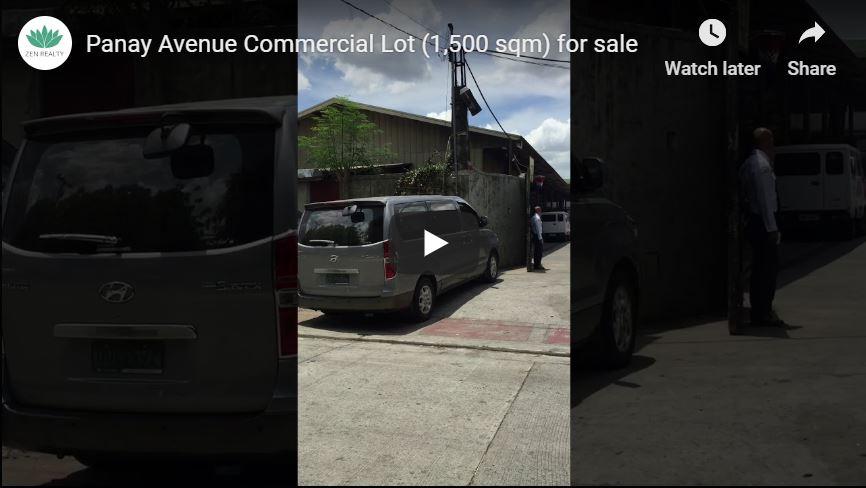 Panay Avenue Quezon City Commercial Lot for sale video